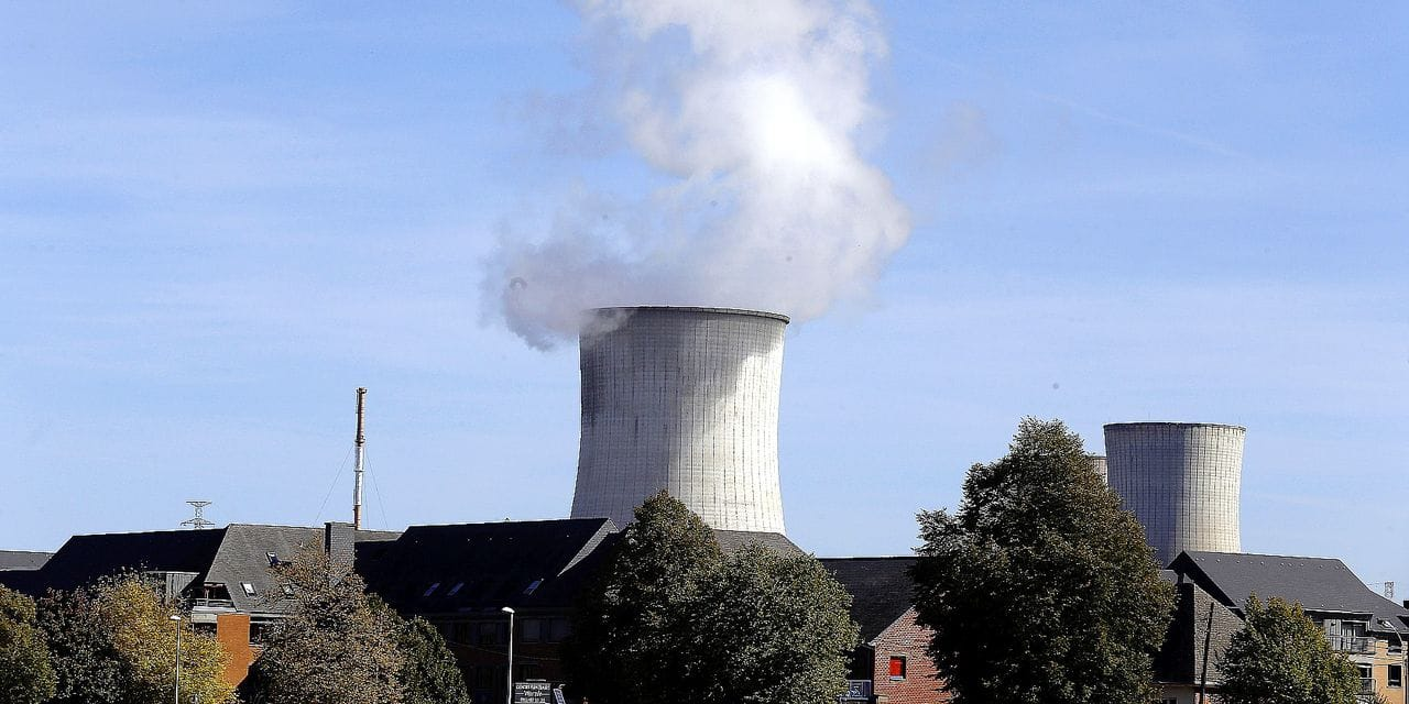 Illustration picture shows Tihange nuclear power plant pictured ahead of a protest with protesters from Belgium, the Netherlands and Germany at the nuclear power plant in Tihange to claim the immediate shutdown of the nuclear power plants Tihange 2 and Doel3, Saturday 29 September 2018, in Tihange. BELGA PHOTO NICOLAS MAETERLINCK