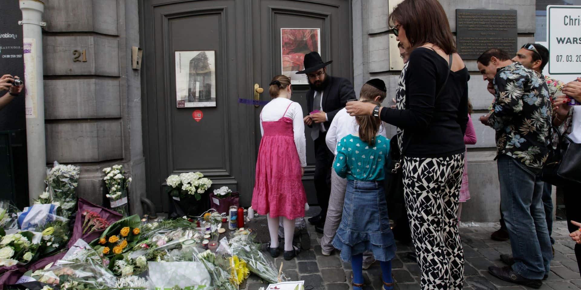 Commémoration du 7e anniversaire de l'attentat au Musée juif de Belgique