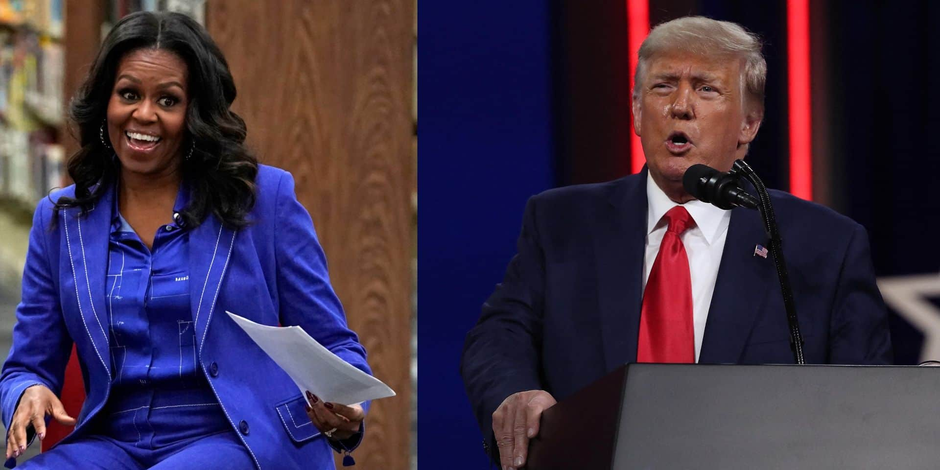 Un enregistrement de Trump divulgué: la pique à l'égard de Michelle Obama fait polémique