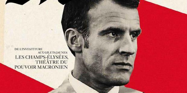 """Le Monde, accusé d'utiliser """"les codes de l'iconographie nazie"""" dans une couverture sur Macron, présente ses excuses"""