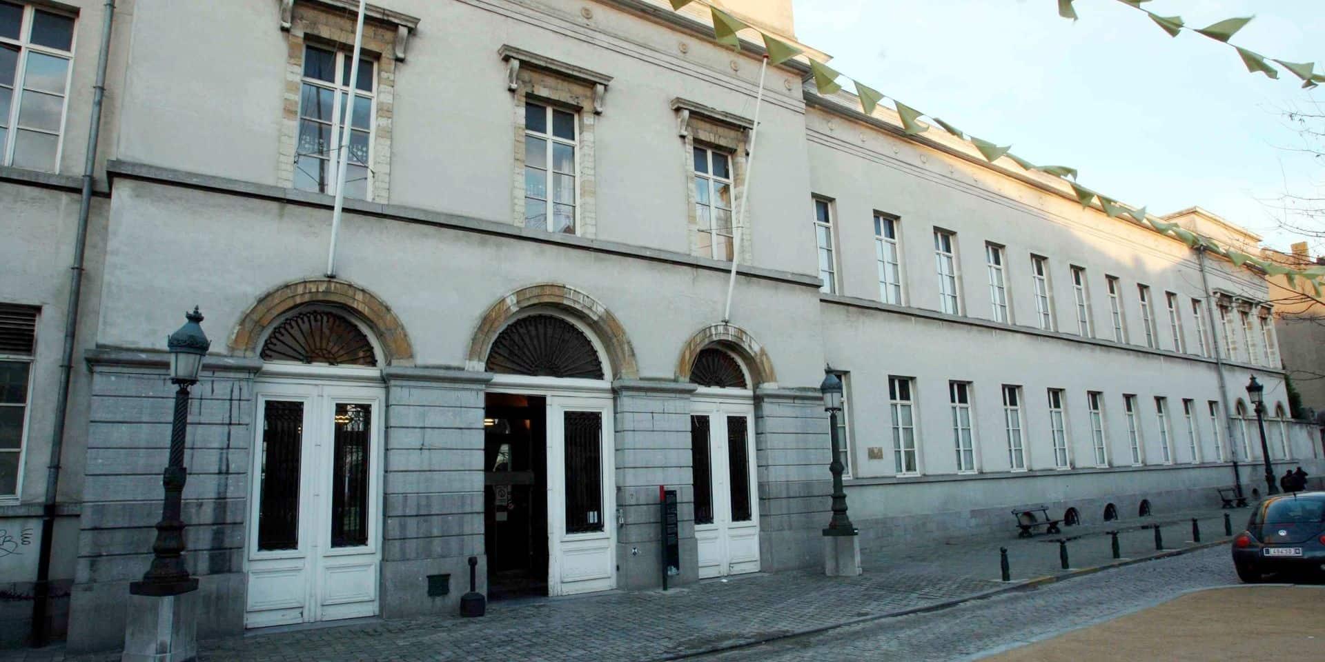 La police bruxelloise a délogé 38 personnes de l'Institut Pacheco