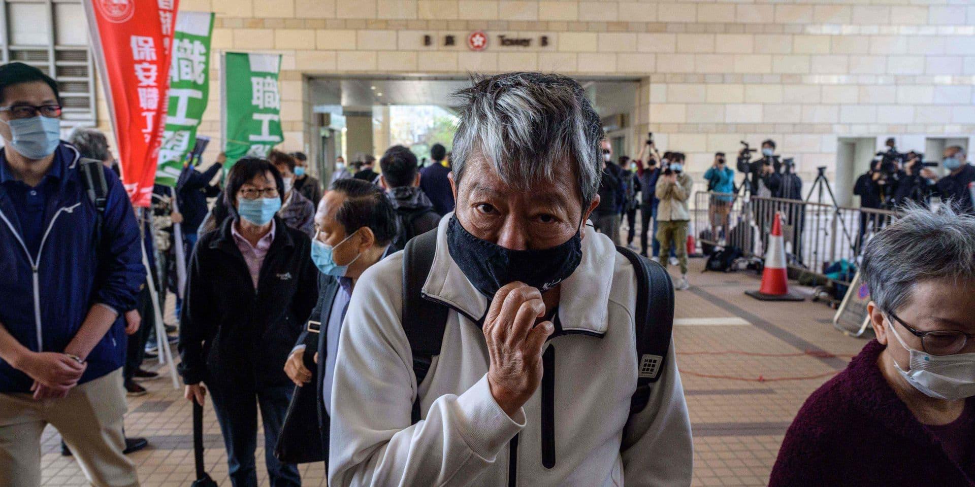 Hong Kong: des figures du combat prodémocratie jugées pour une manifestation en 2019
