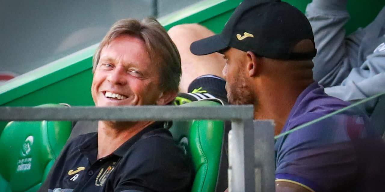 """Vercauteren se confie avant le choc face à Anderlecht: """"Ceux qui me trouvent vieux jeu doivent se taire"""""""