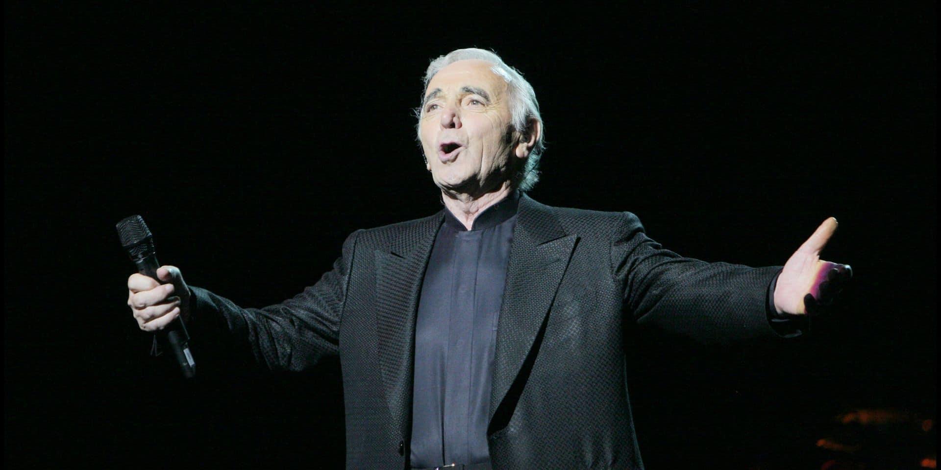 Les dix tubes d'Aznavour qui l'ont emmené en haut de l'affiche