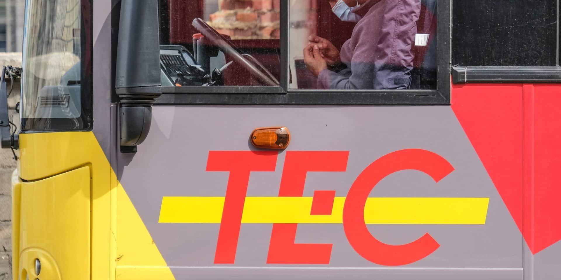 Un mouvement de grève perturbe vendredi matin le réseau du Tec Charleroi