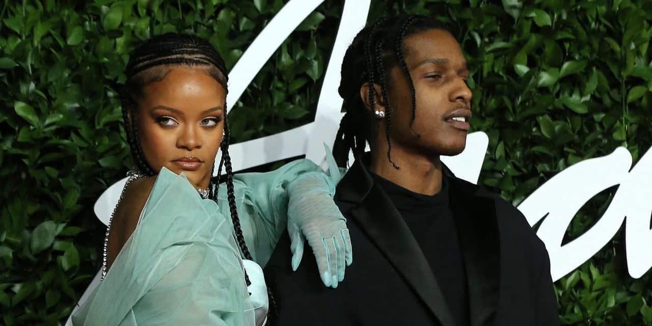 """""""C'est l'élue"""": A$AP Rocky officialise sa relation avec Rihanna"""