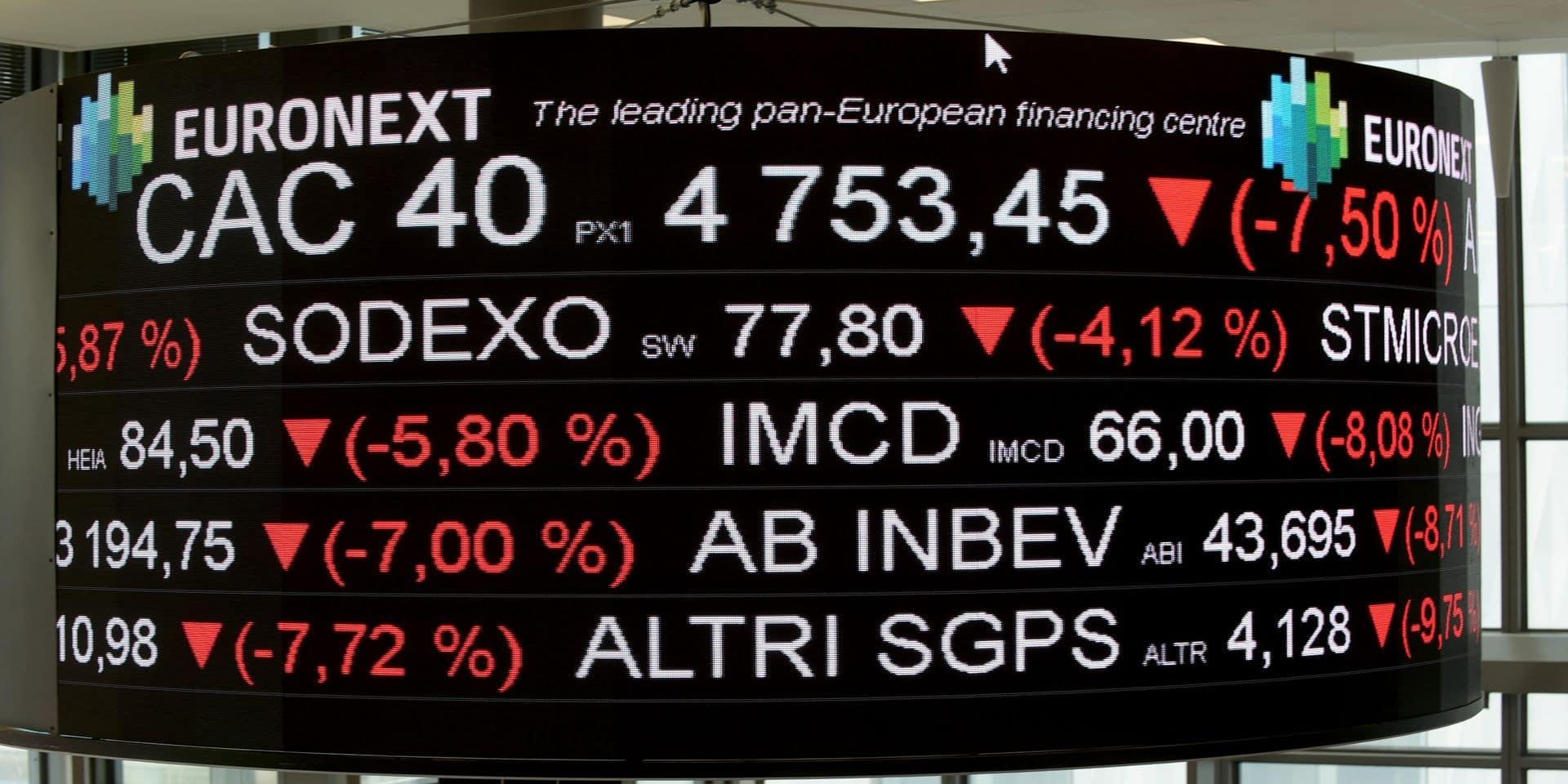 Sous l'impulsion de Wall Street, les Bourses européennes terminent dans le vert