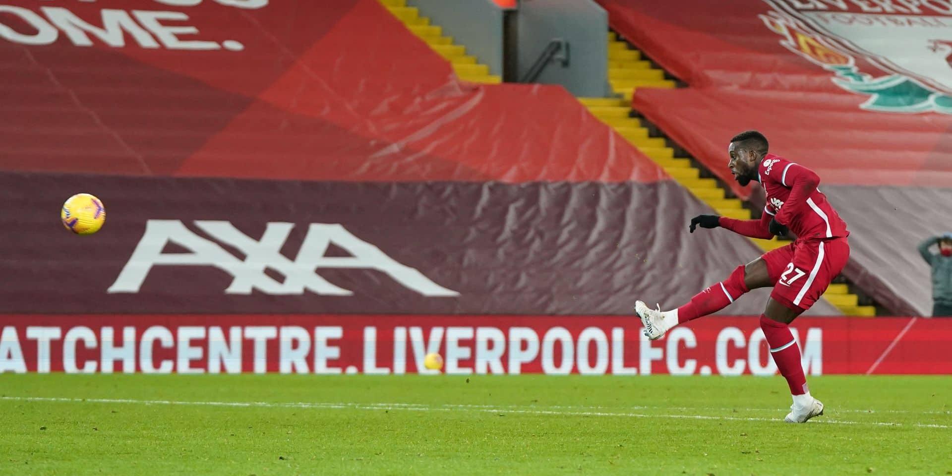 Belges à l'étranger: Liverpool et Origi renouent avec la victoire face à Tottenham, Naples qualifié pour les demi-finales de la Coupe d'Italie