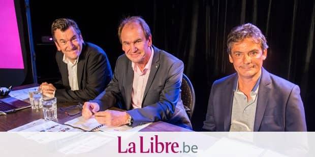 LIEGE. LA CONFERENCE DE PRESSE DU VOO RIRE 2018. Photo Michel Tonneau
