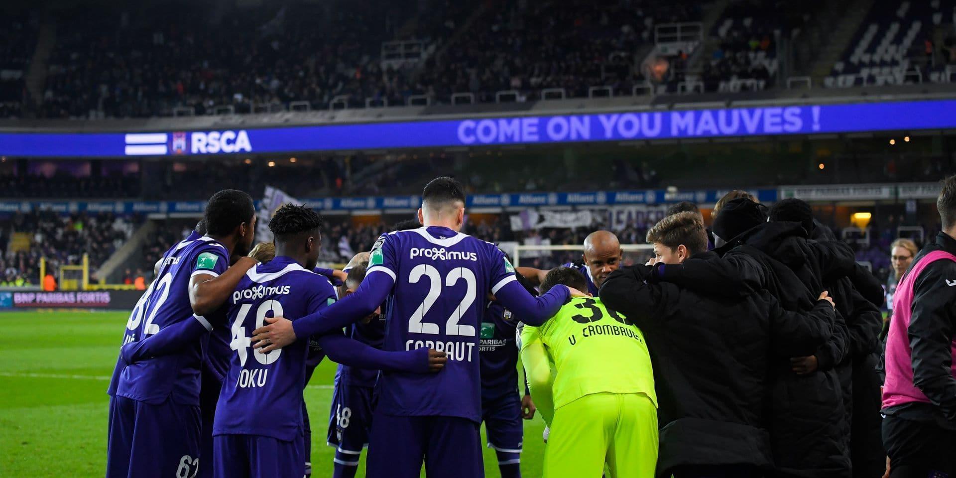 Anderlecht veut économiser 2,7 millions grâce aux joueurs