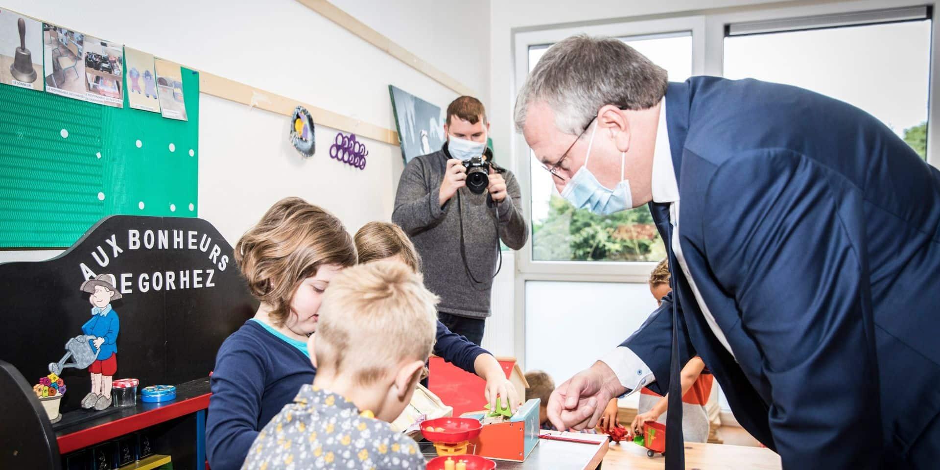 Le respect de l'obligation scolaire sera contrôlé de manière effective, prévient Pierre-Yves Jeholet