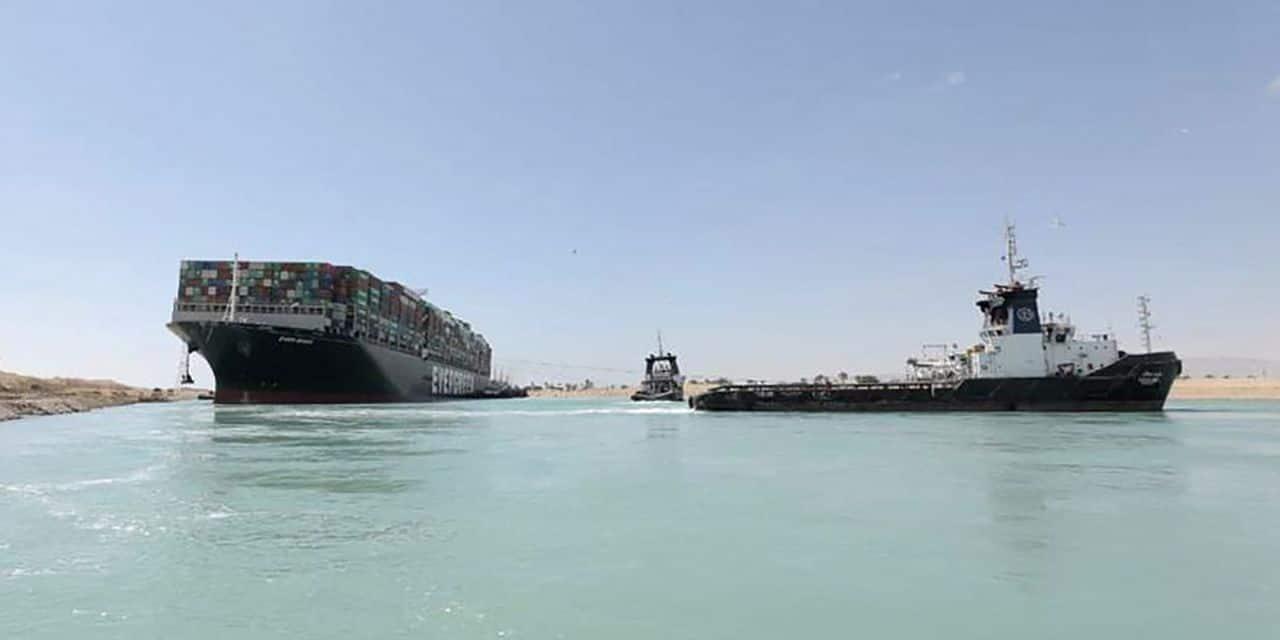 L'Autorité du Canal de Suez tient le capitaine de l'Ever Given pour responsable du blocage