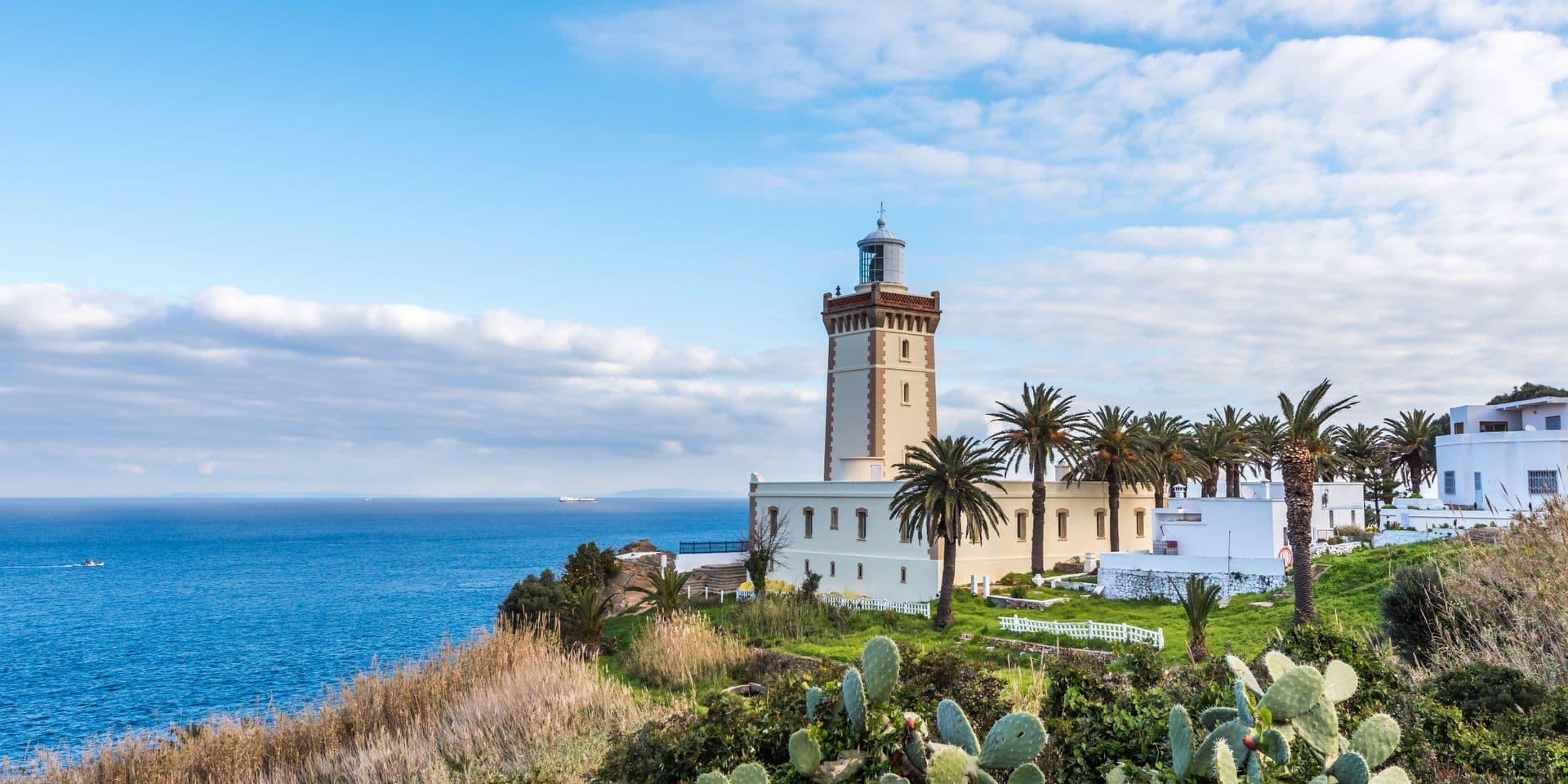 Phare du cap Spartel à Tanger (Maroc).