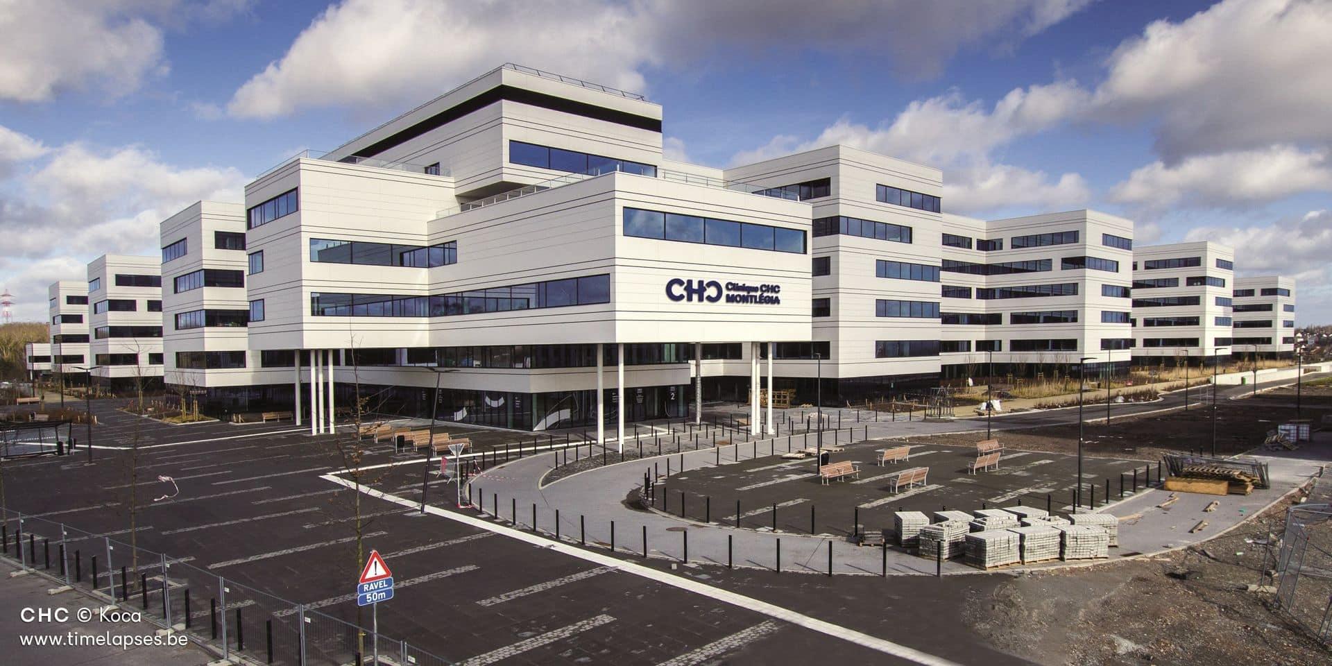 Liège: le déménagement vers le tout nouvel hôpital MontLégia va être accéléré suite à l'épidémie de coronavirus