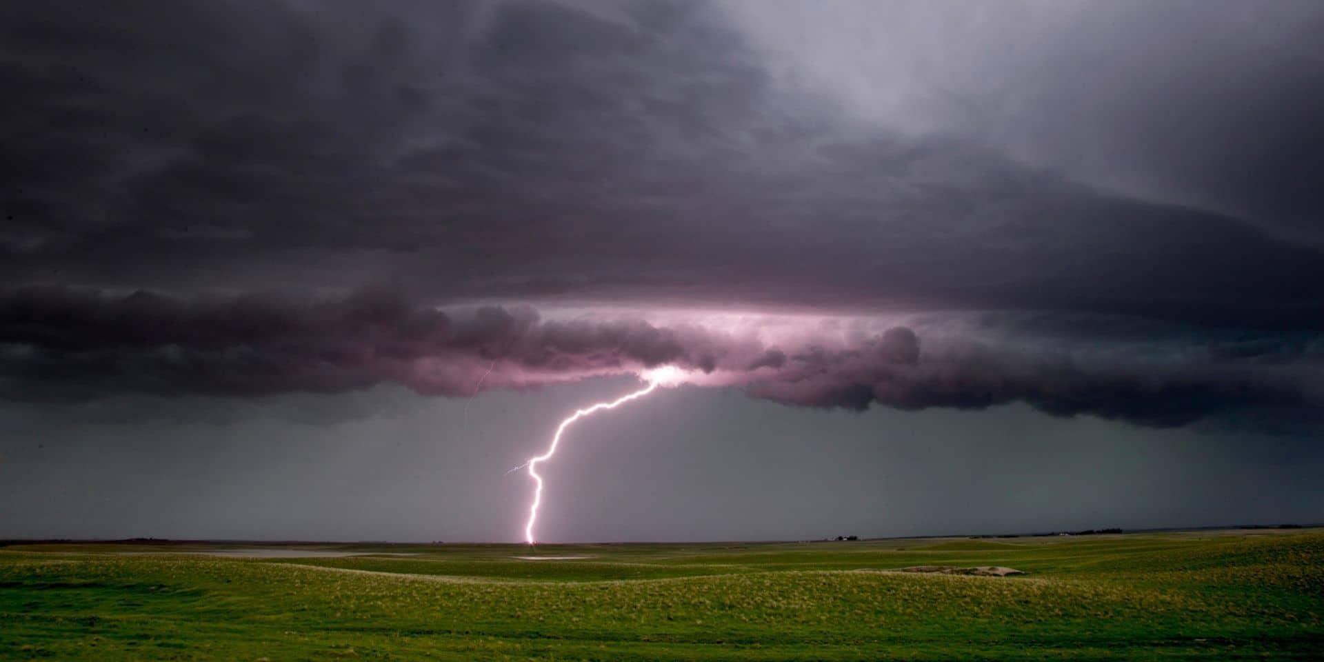 Météo: alerte jaune pour les orages jusqu'à samedi soir