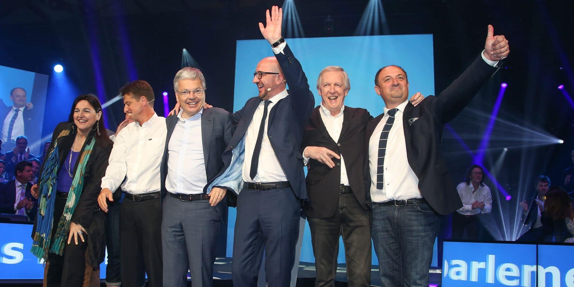 Baromètre politique: les libéraux francophones sont relégués en deuxième division