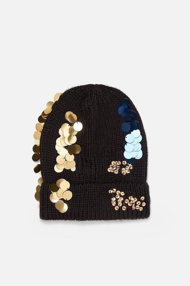 Bonnet Zara : 12,95 euros