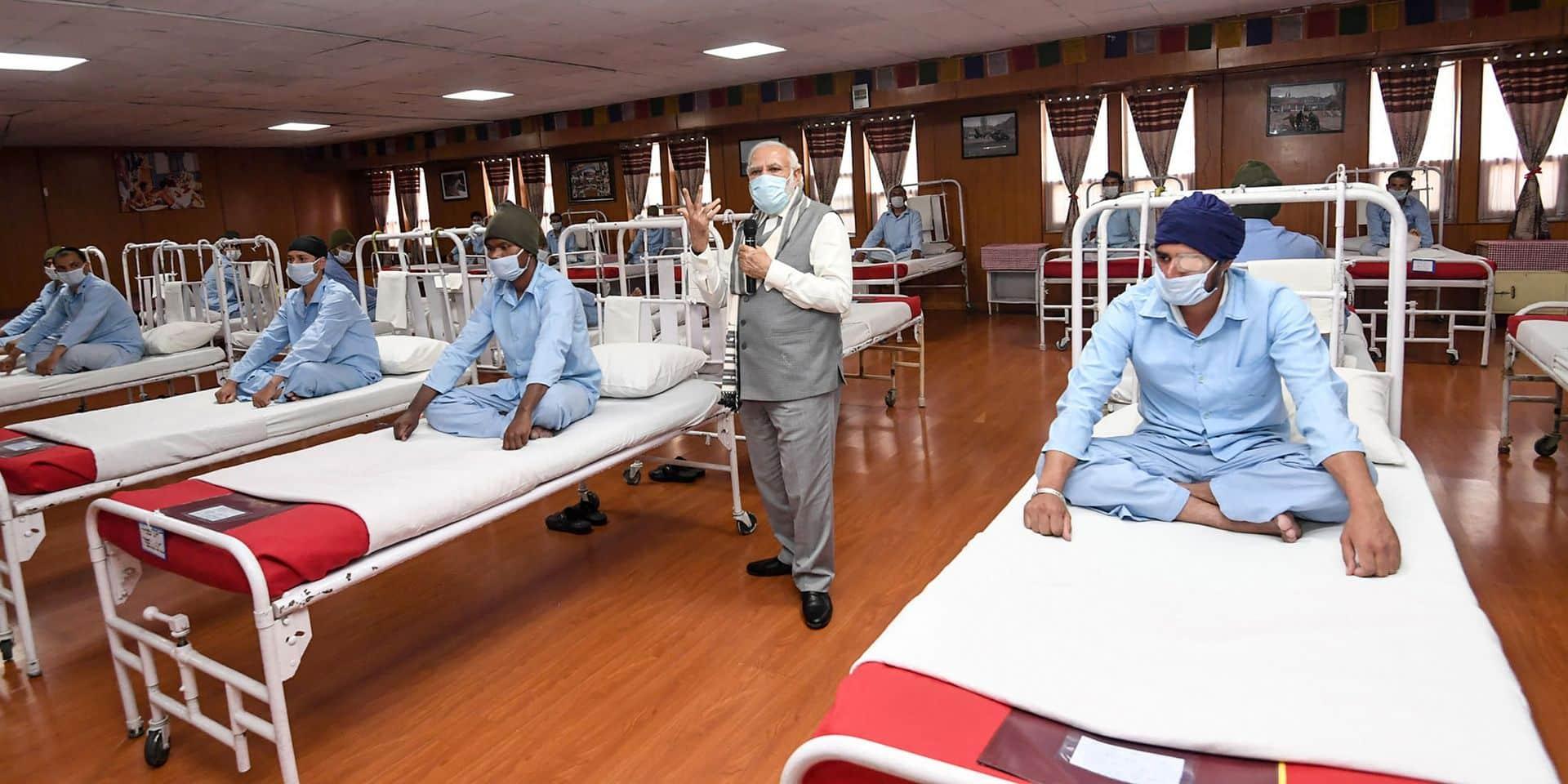 Les Etats-Unis et l'Inde battent des records en termes de nouvelles infections