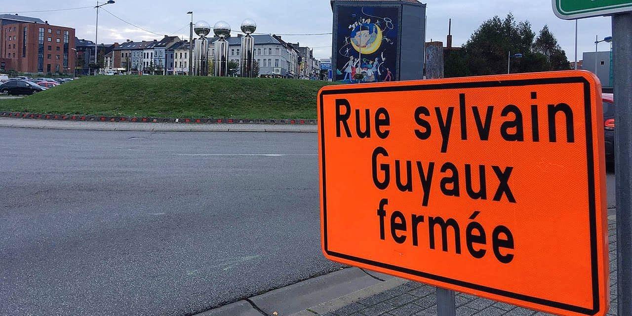 La Louvière: pas de piétonnier à la rue Sylvain Guyaux