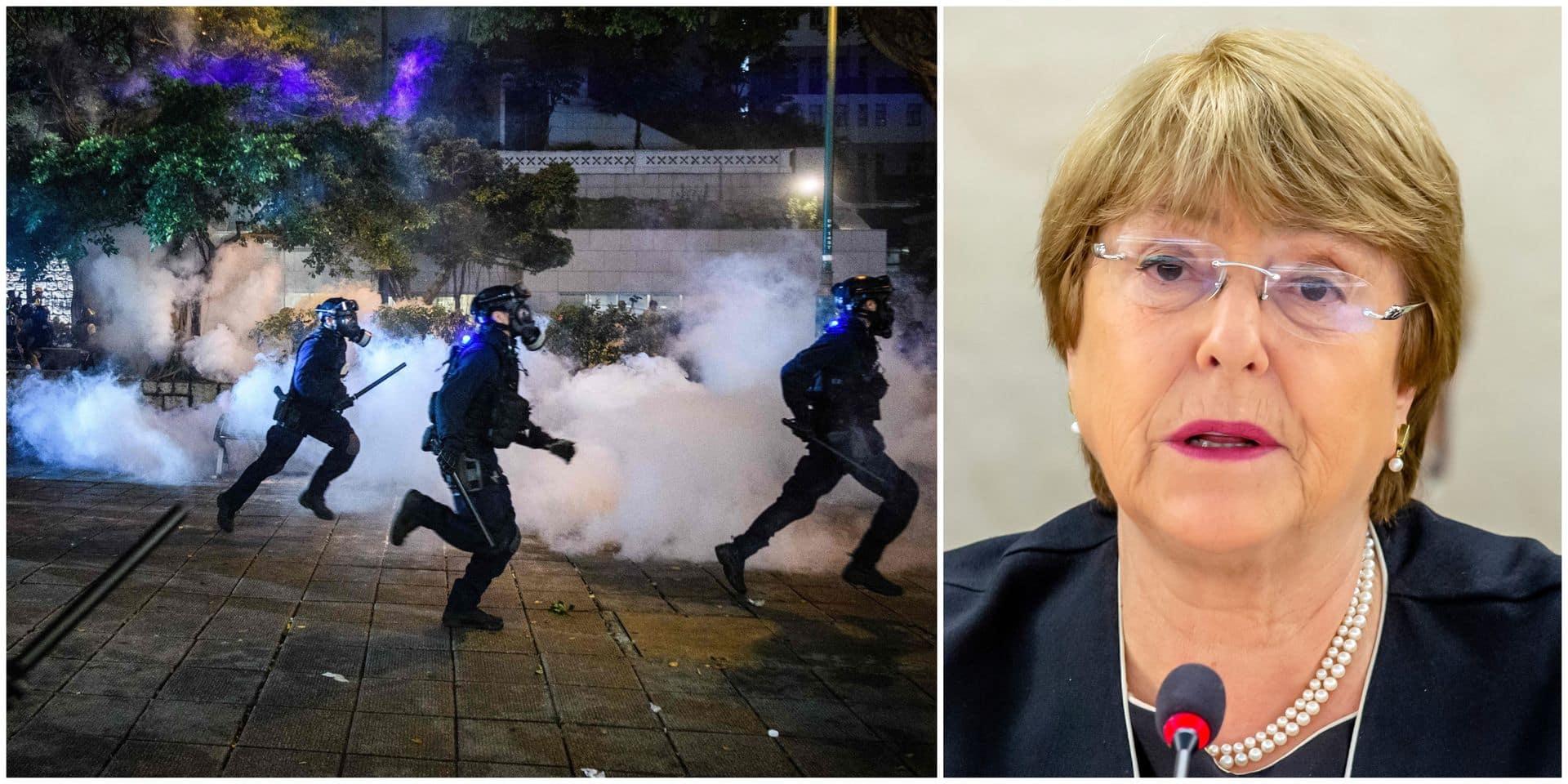 L'ONU condamne la violence à Hong Kong et demande une enquête impartiale