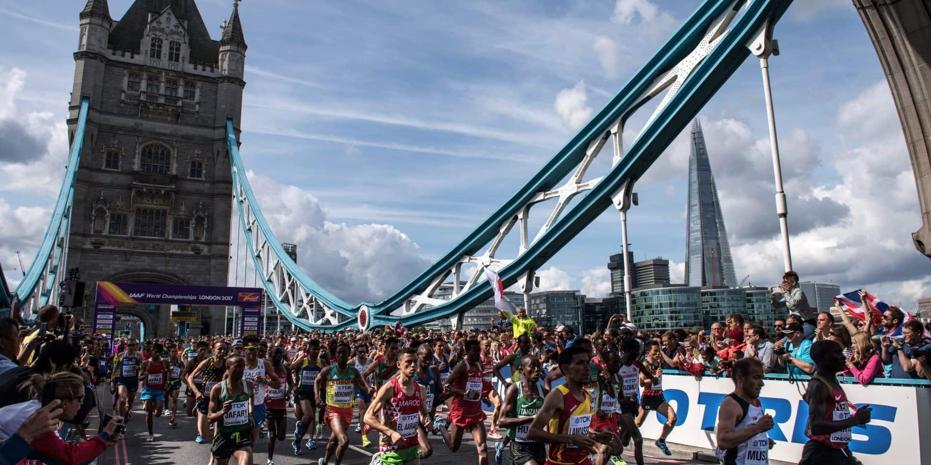 Le marathon de Londres