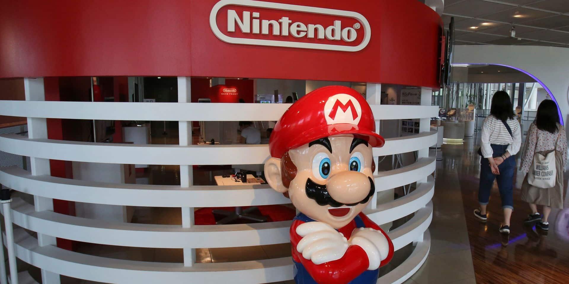 Coup de frein pour certains jeux de Nintendo en Belgique