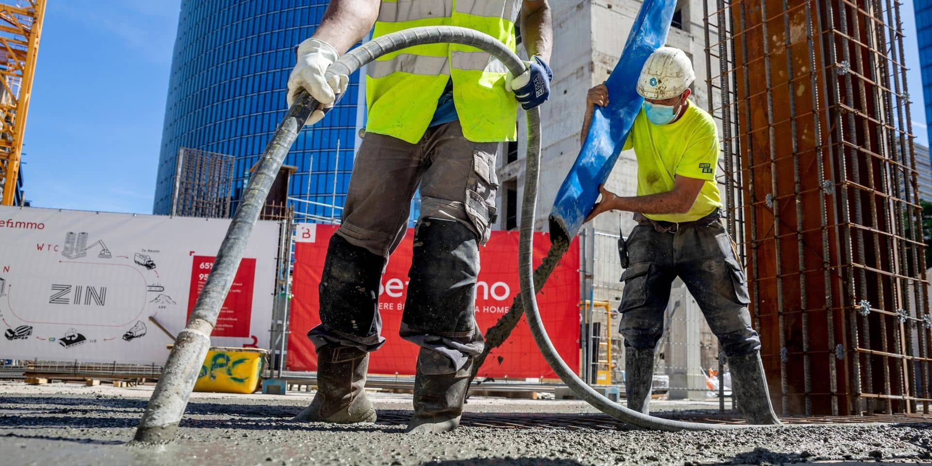 """Du """"béton circulaire"""" pour réduire les émissions de CO2 du secteur de la construction (et oublier un fiasco du passé à Bruxelles)"""