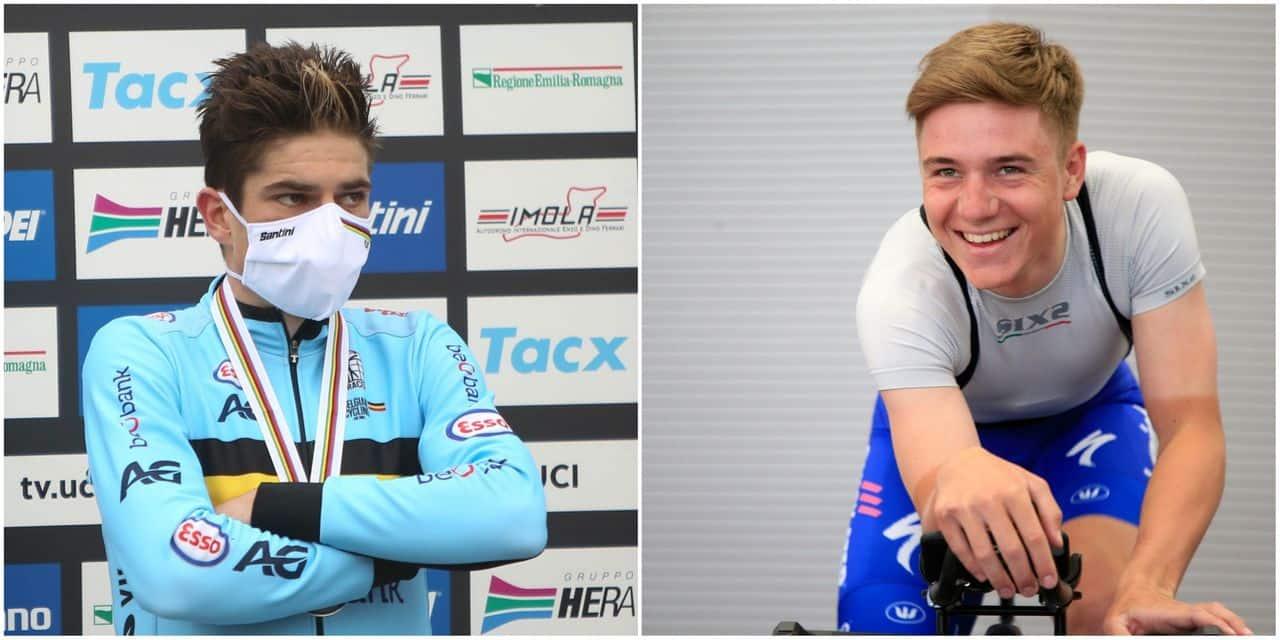 Wout van Aert et Remco Evenepoel parmi les 15 nommés au Vélo d'Or
