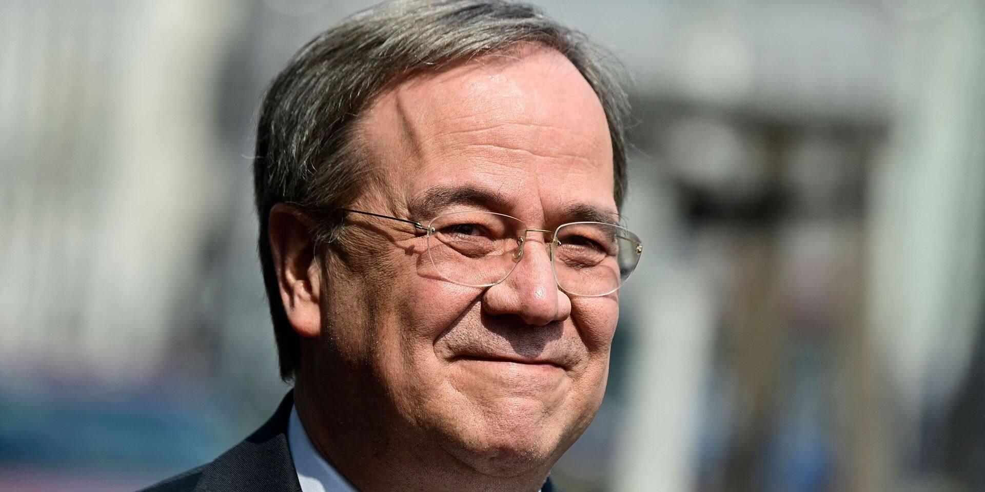 Le CDU confirme la candidature d'Armin Laschet pour la succession d'Angela Merkel