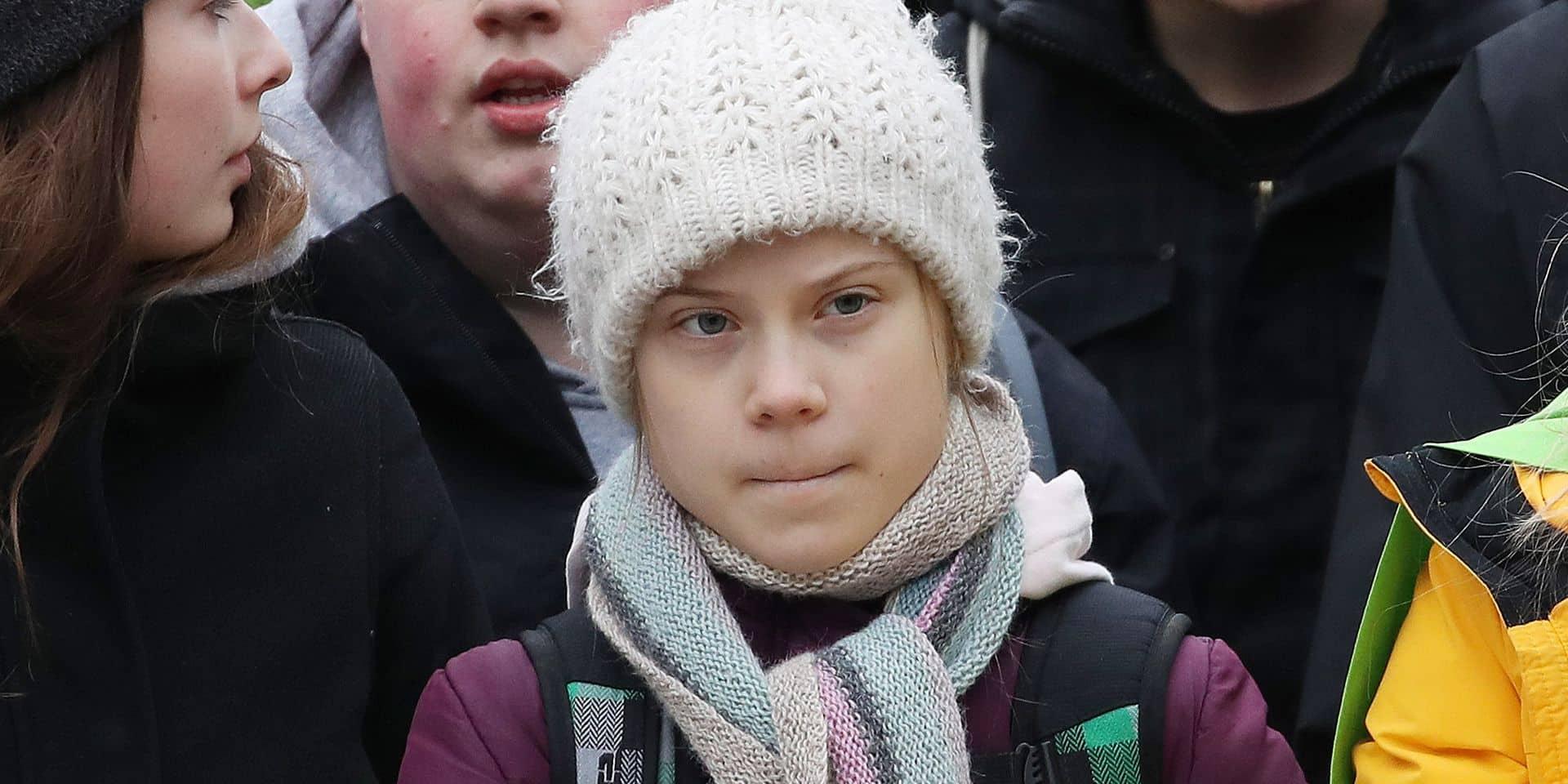 Greta Thunberg est désormais un escargot