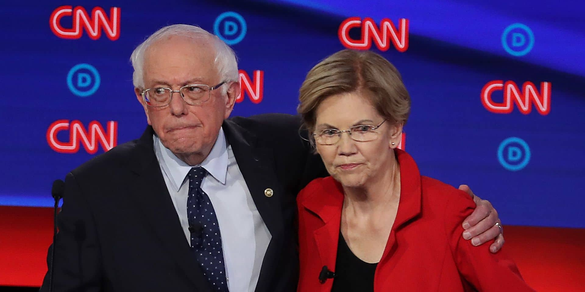 Bernie Sanders et Elizabeth Warren sont-ils trop à gauche pour capter l'électorat centriste américain?