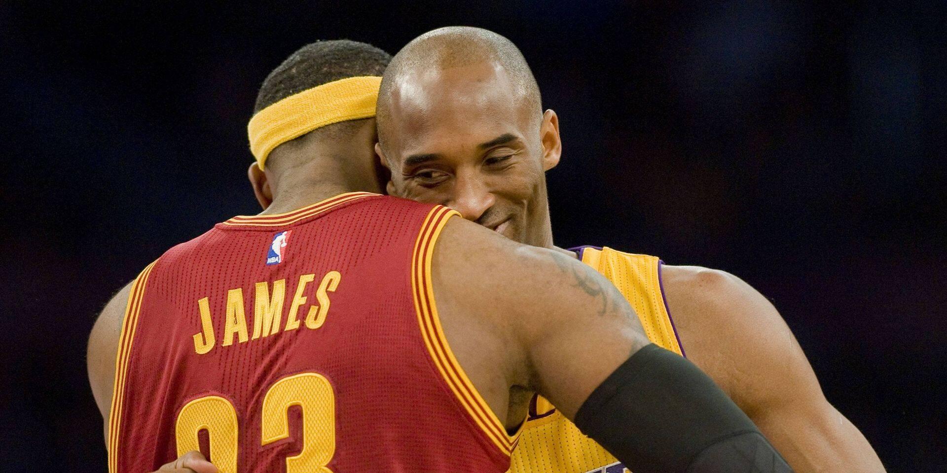 """""""J'ai le coeur brisé et je suis anéanti mon frère"""": LeBron James s'adresse à son ami Kobe Bryant"""