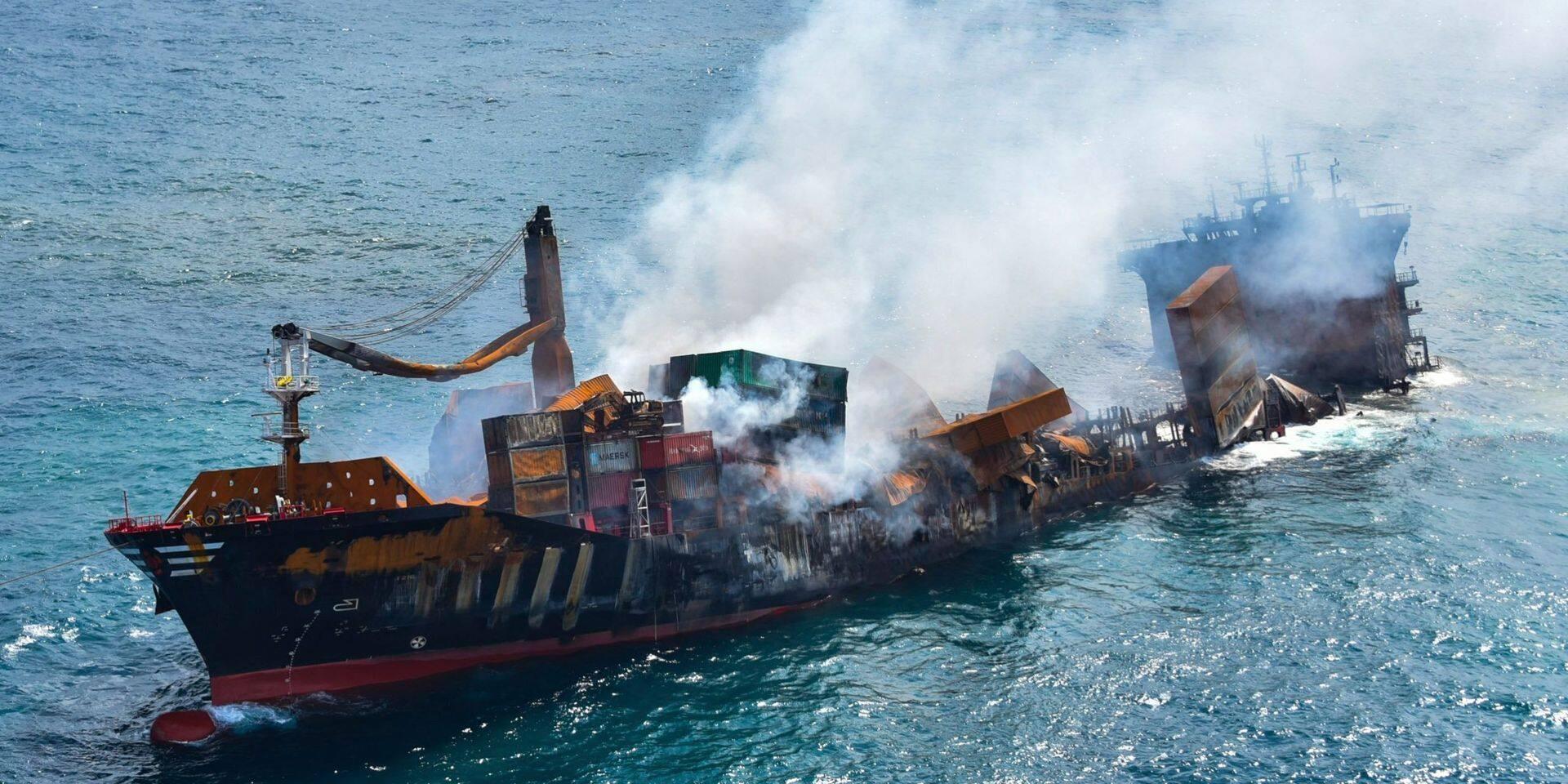 Enquête sur le naufrage du cargo au Sri Lanka : des emails essentiels ont été effacés