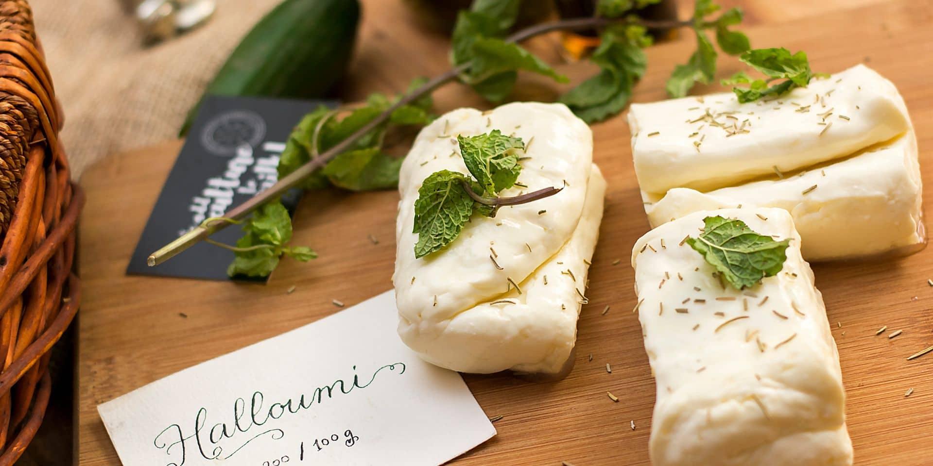 Halloumi,Cheese,-,Food,Photography