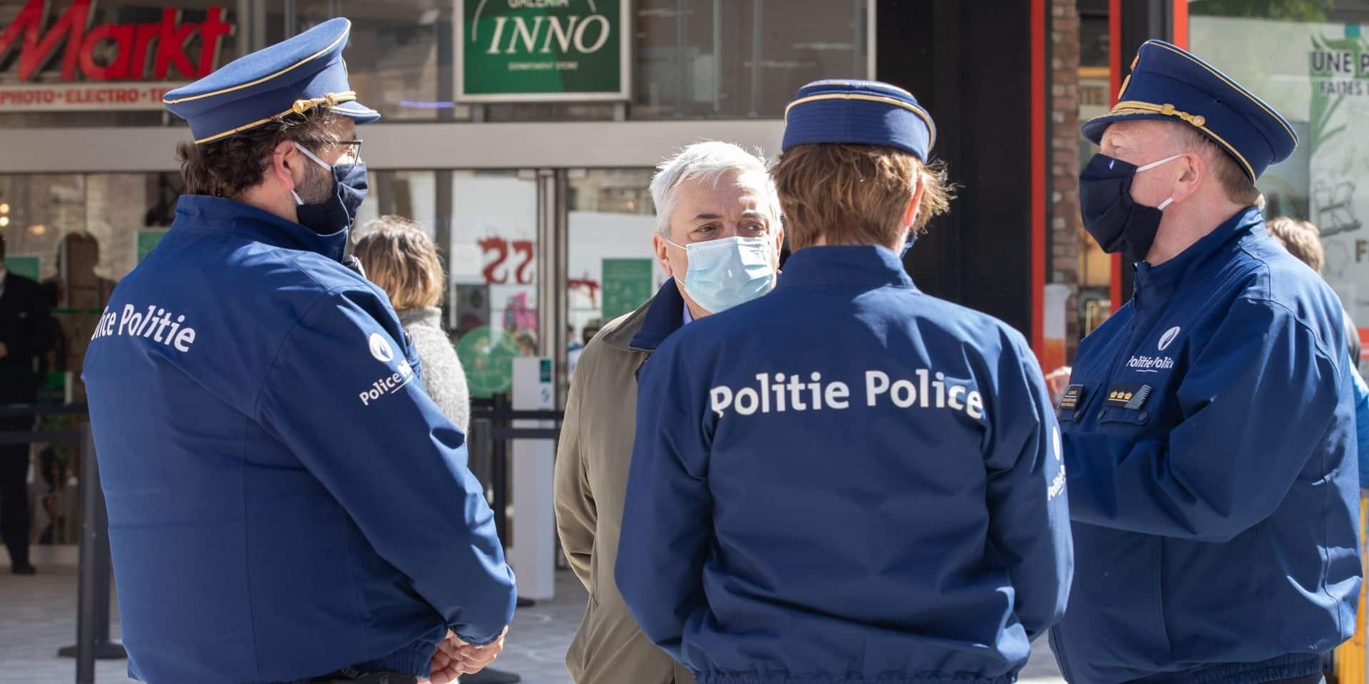 Une trentaine de Bruxellois verbalisés pour non respect des règles de confinement