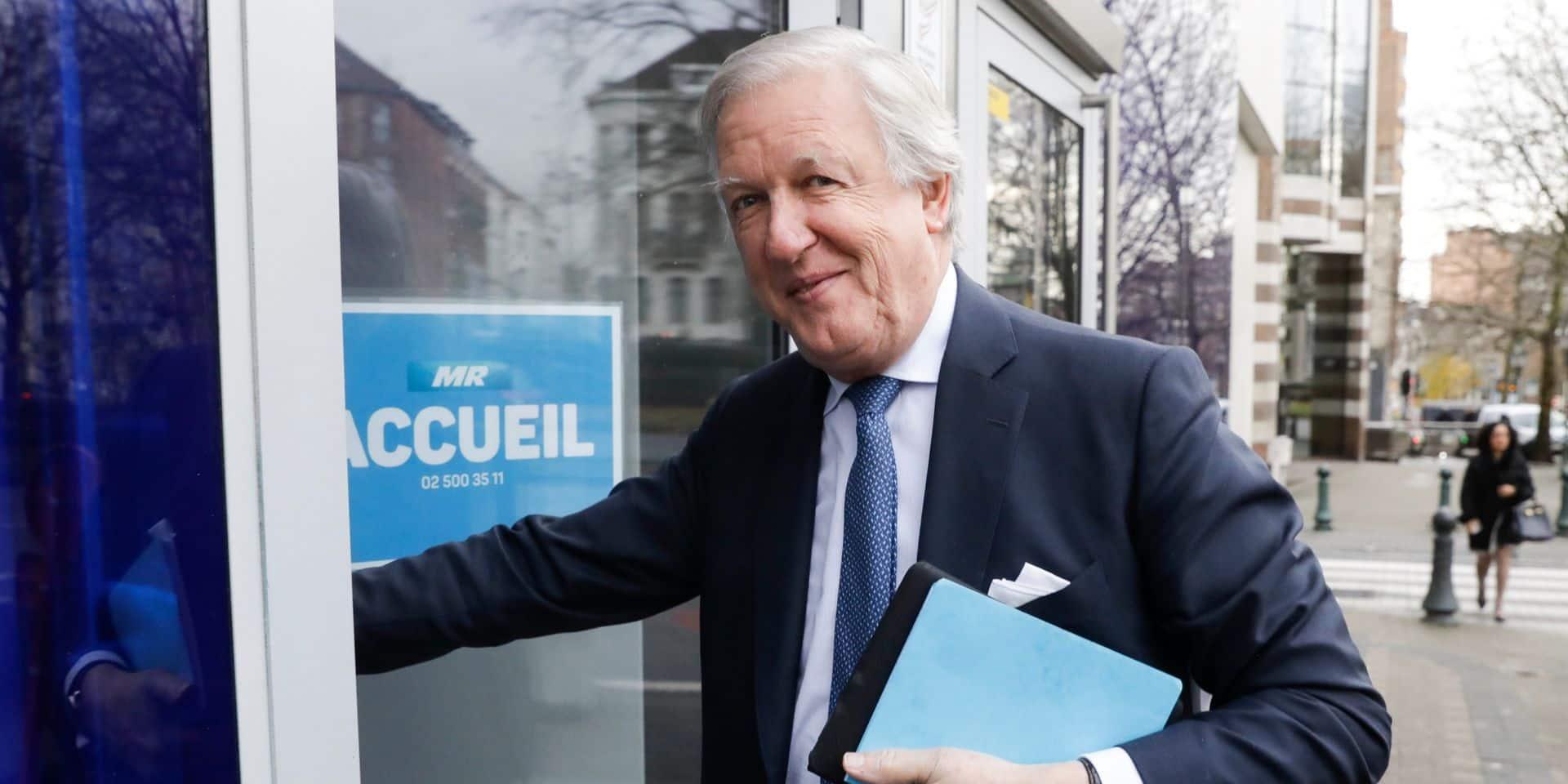 Daniel Bacquelaine devient l'administrateur délégué du centre Jean Gol
