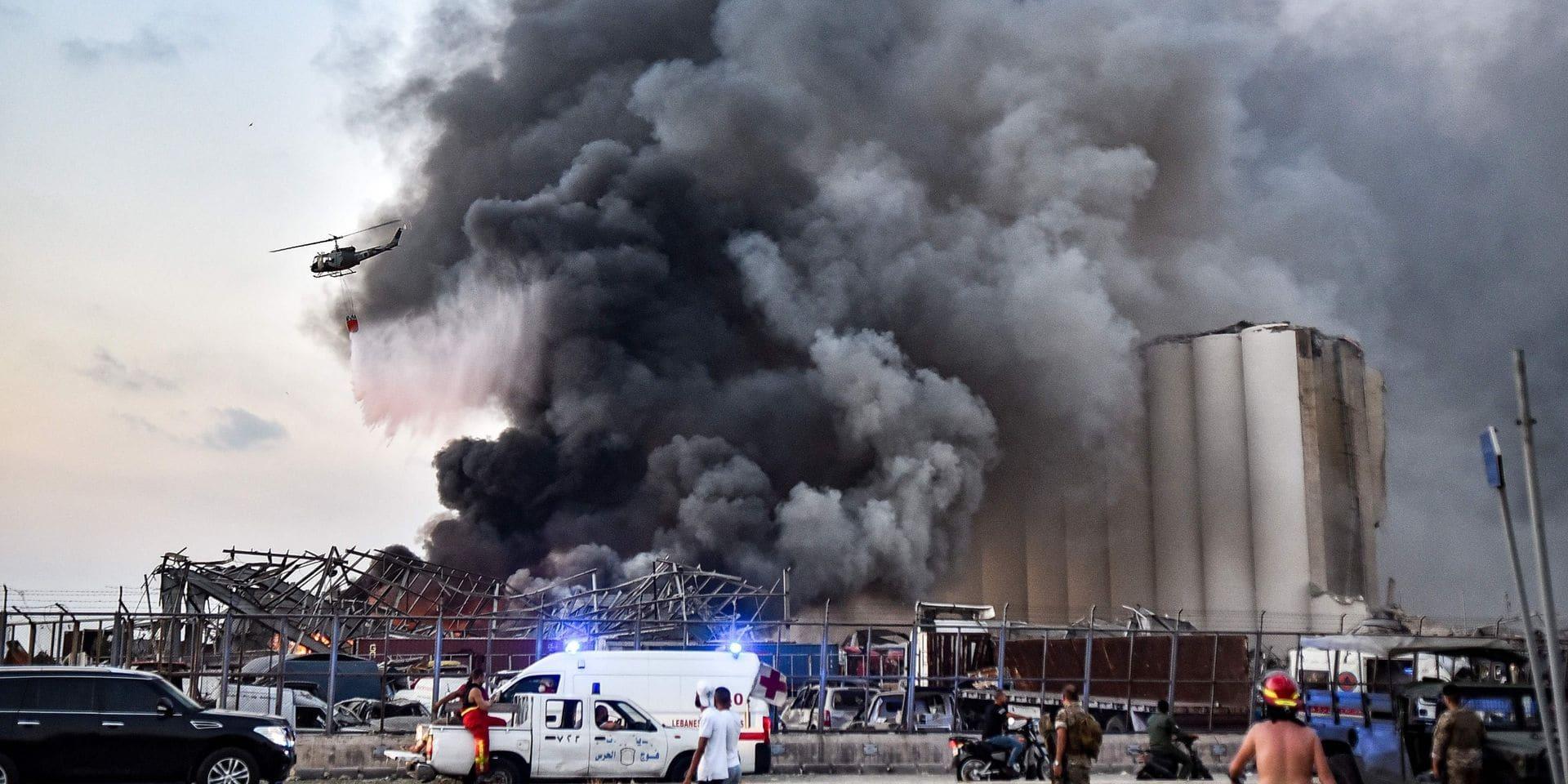 Une explosion causée par du nitrate d'ammonium pourrait-elle se produire en Belgique?