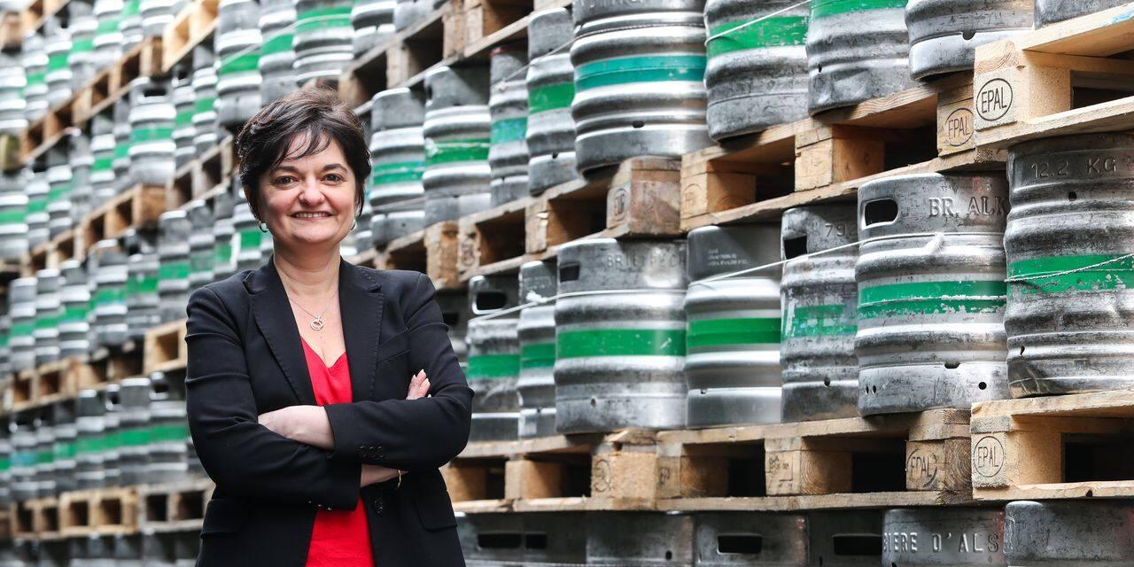 """Annick Vincenty (Alken Maes) : """"La pils, c'est encore 75 % du marché belge de la bière"""""""