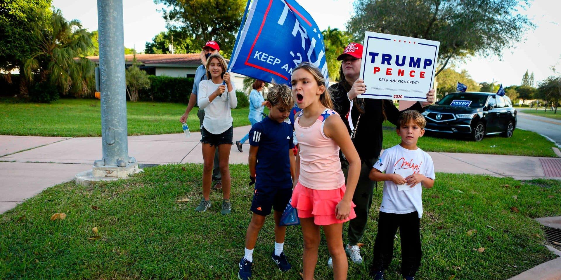 """En Floride, le scénario de 2000 avec son élection """"farce"""" ne s'est pas répété"""