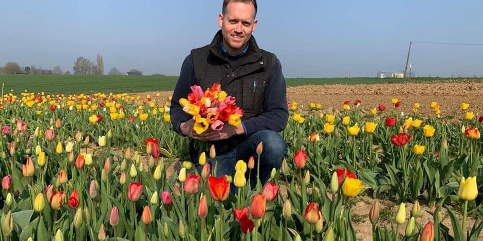 Be Flowers : des fleurs de saison à couper soi-même, directement au champ