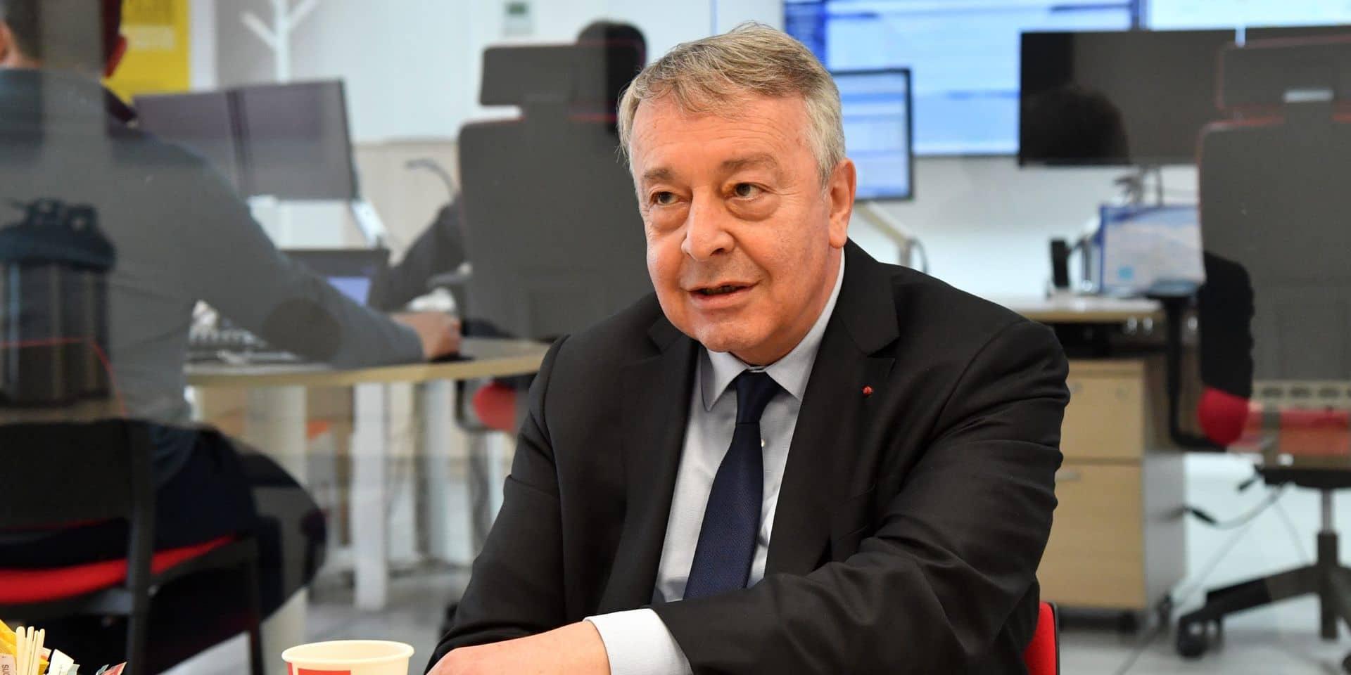 Antoine Frérot, président directeur général de la société Veolia.