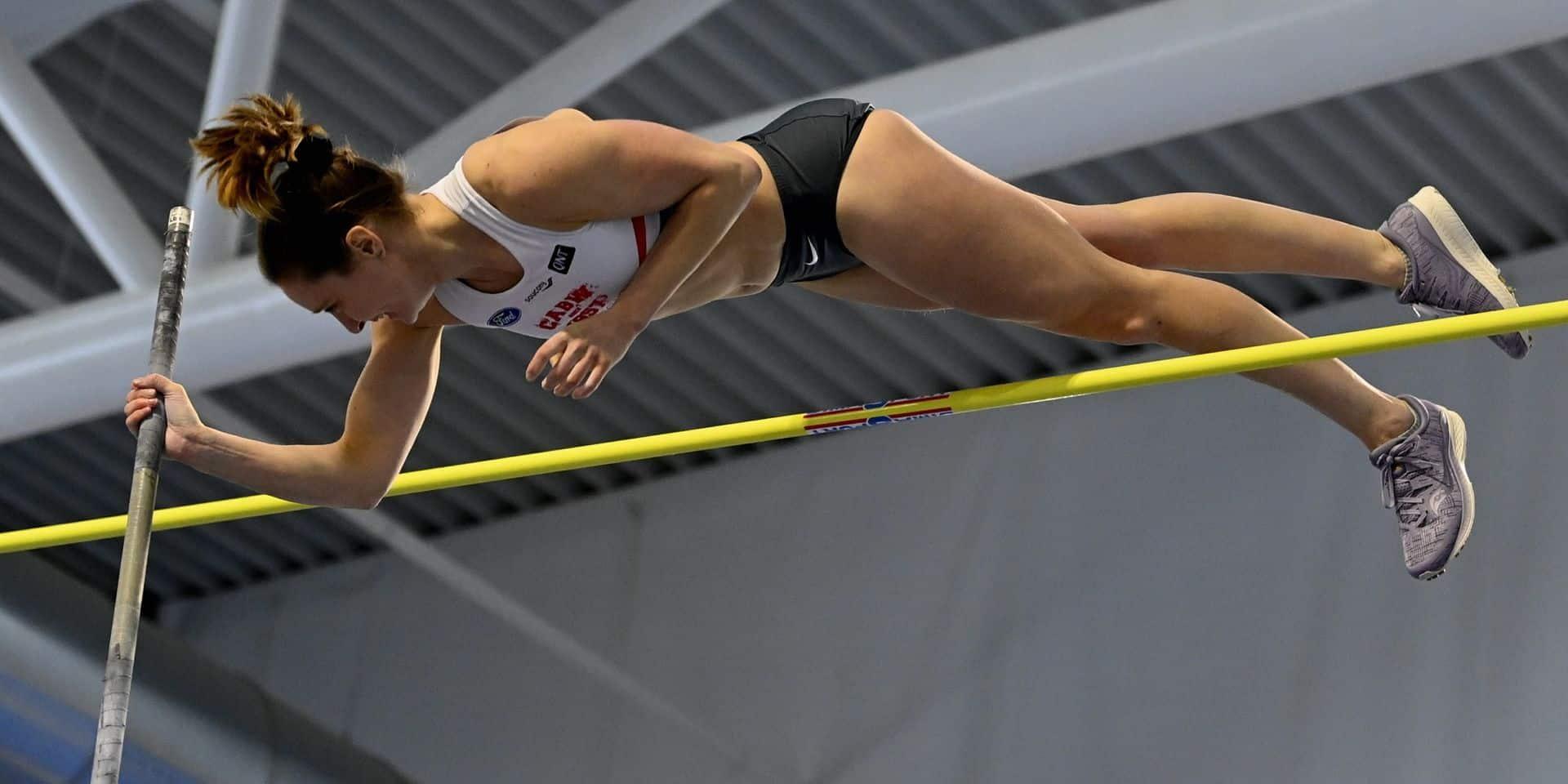Un beau record de Belgique pour Fanny Smets (4,53m) aux championnats de Belgique en salle