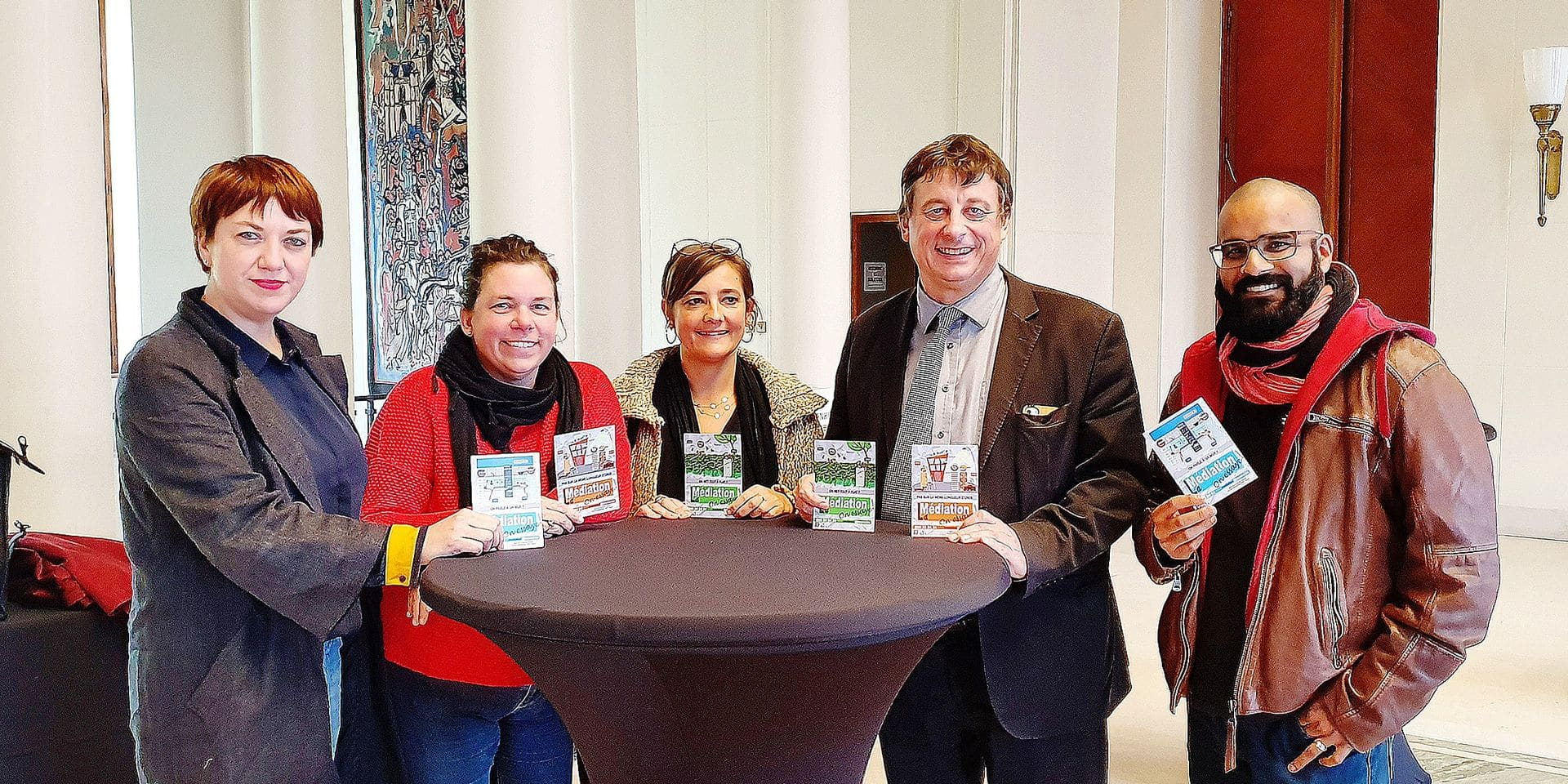 Le service Médiation de la Ville de Tournai fête ses dix ans