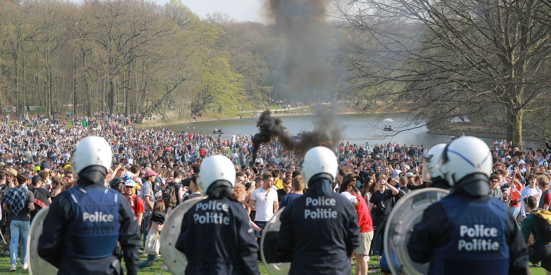 La police recherche ces 4 individus qui étaient présents au Bois de la Cambre lors la Boum du 1er avril