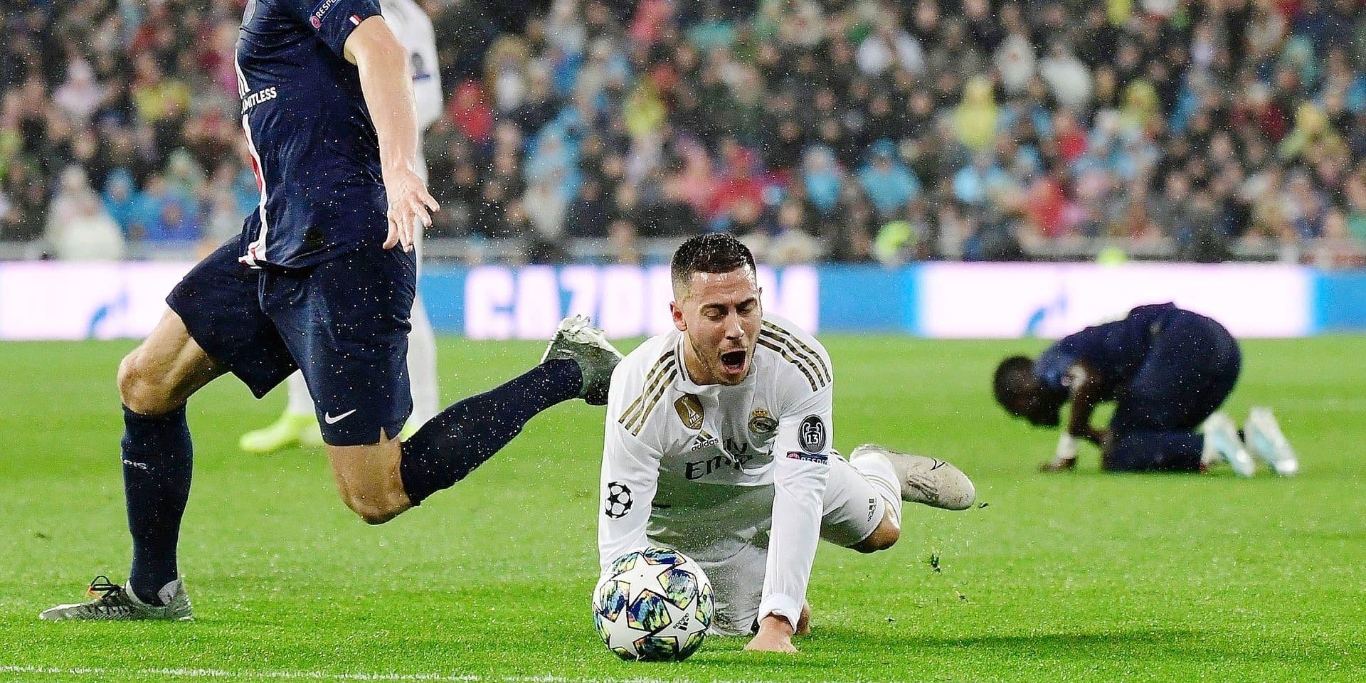 Fin d'année pour Hazard ? Casse-tête pour Zidane