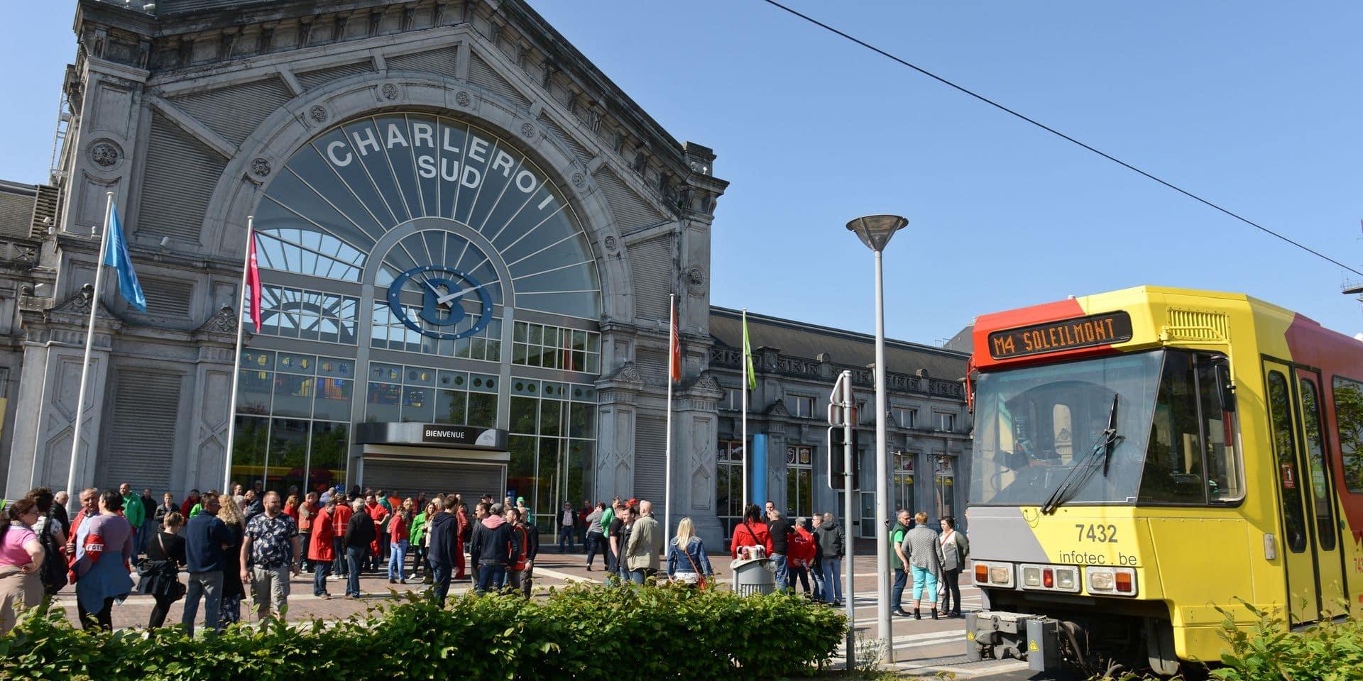 Charleroi: perturbations au TEC en raison d'un mouvement spontané des chauffeurs
