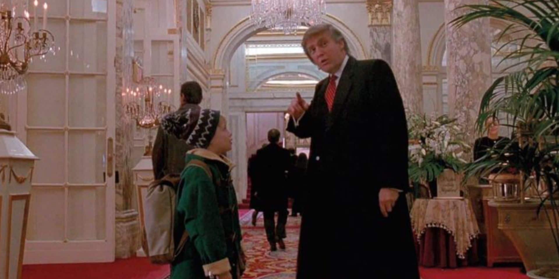 """Donald Trump supprimé de """"Maman j'ai encore raté l'avion"""" ? Macaulay Culkin est pour"""