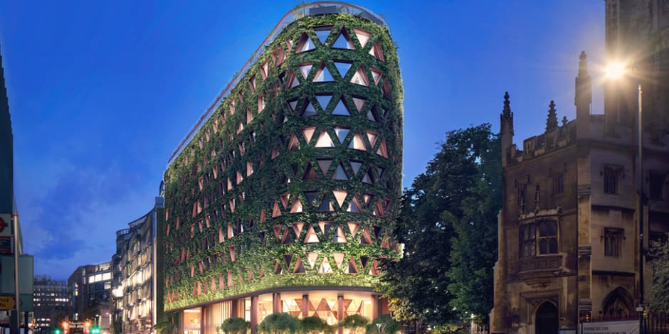 ShortissIMMO | La plus grosse transaction de Californie, un mur de plantes sur un hôtel de luxe et une chapelle de vignes