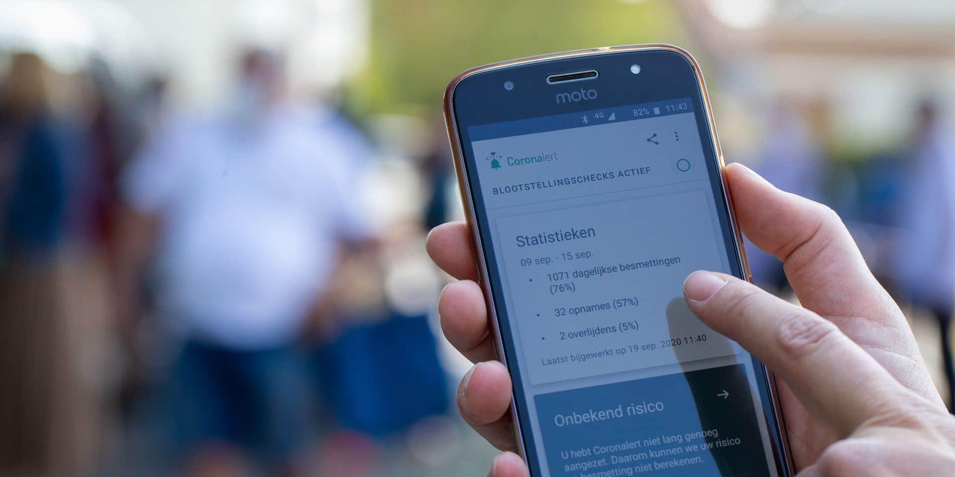 Certains utilisateurs rencontrent des problèmes sur l'application Coronalert, qui ne fonctionne plus depuis plusieurs jours