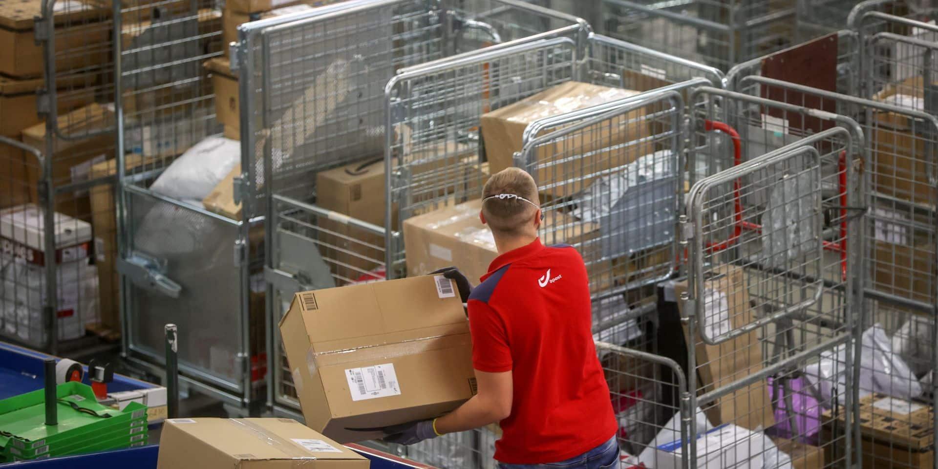Rush des commandes chez bpost : le cap des 5 millions de colis franchi